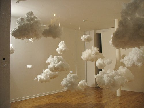 clouds in the room