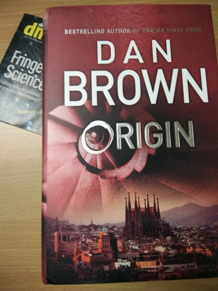 Link to Dan Brown's flirtations with the existential questions, a book review