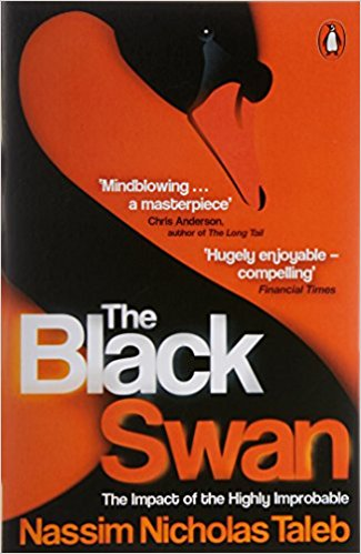 Aesthetic Blasphemy | The Black Swan book Cover featuring the photo of a black swan