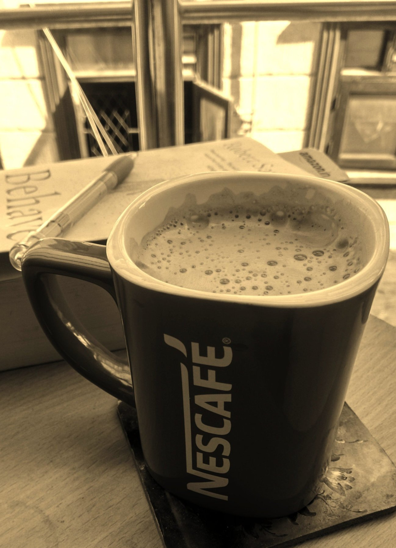 Aesthetic Blasphemy | Nescafe coffee cup image