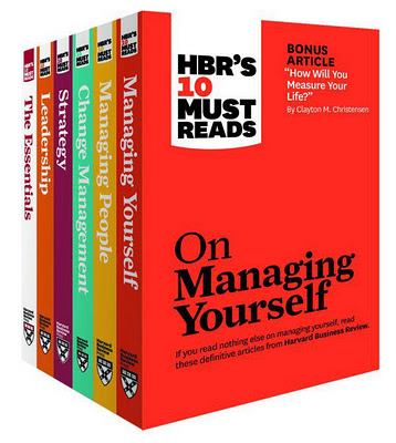 Link to Book Review - HBR's 10 Must Reads Box Set of 6