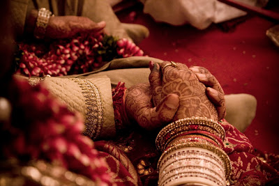 Hand in hand - Indian Wedding