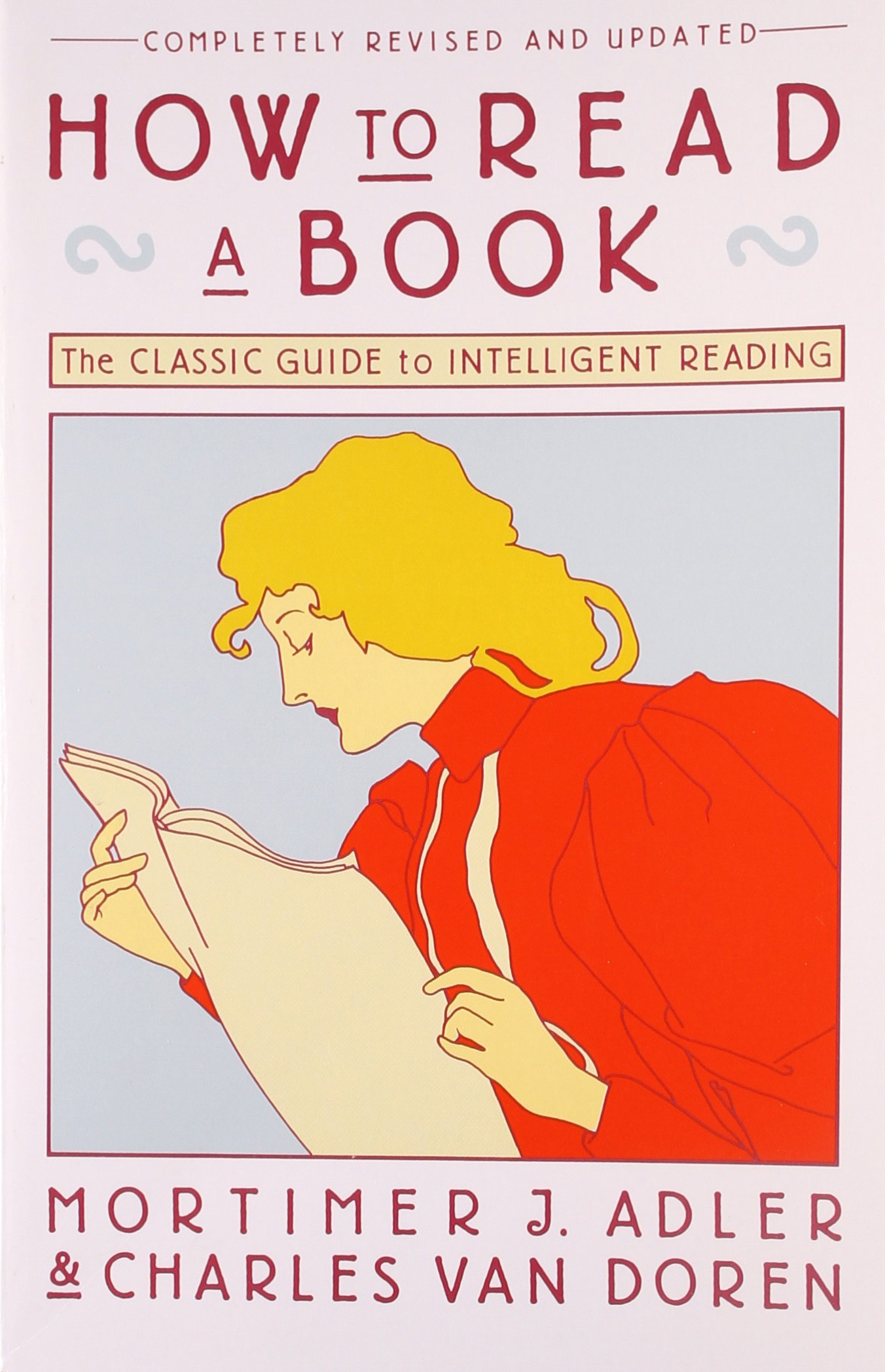 How To Read a Book Cover page