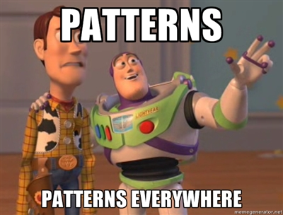 Link to life in patterns